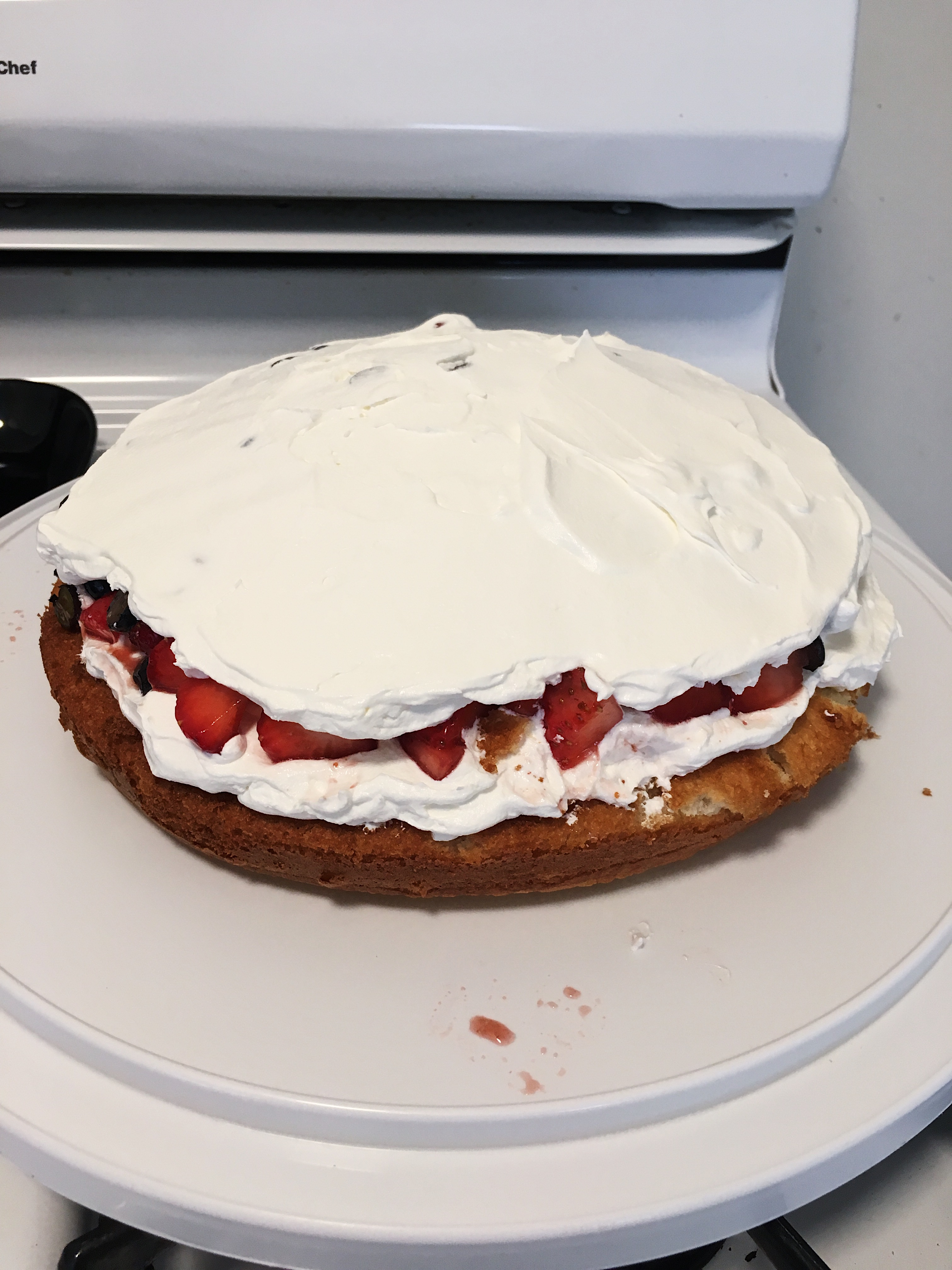 4th of july cake filling recipe