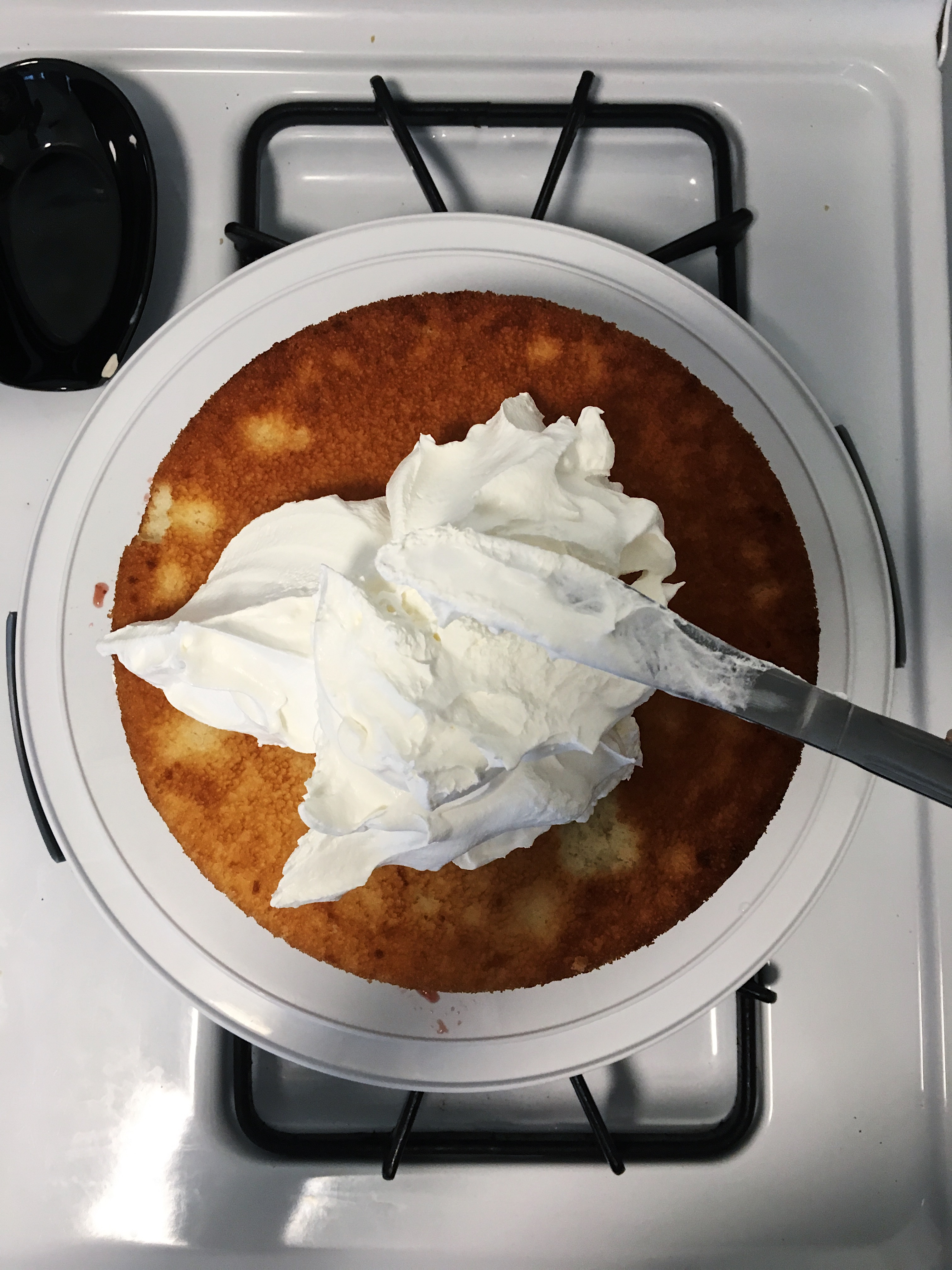 cool whip for homemade 4th of july cake