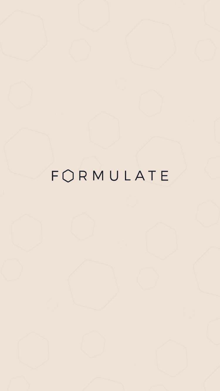 the formulate app
