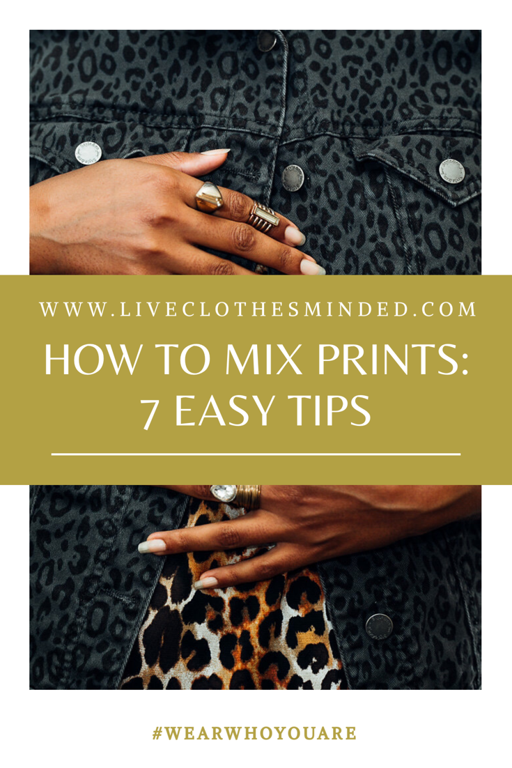 7 ways to mix prints-how to mix prints