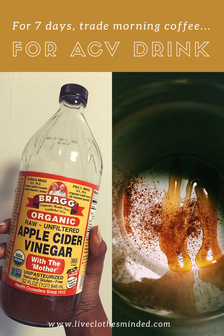 apple cider vinegar drink-acv