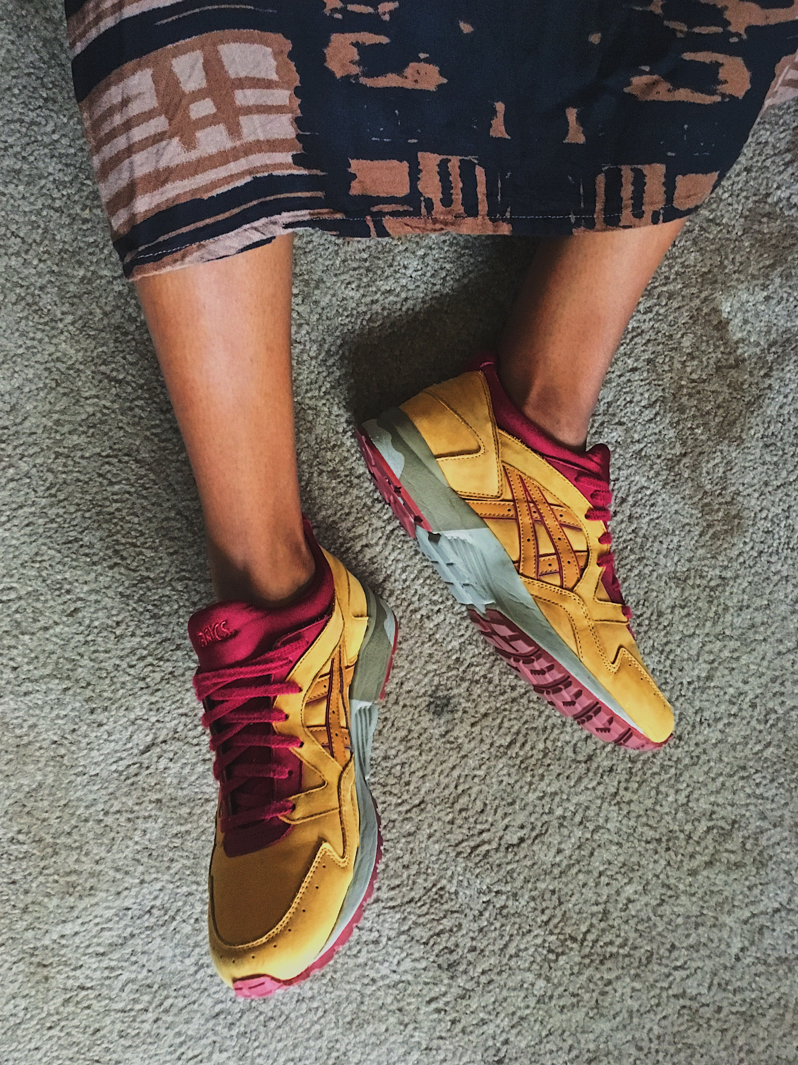 fit femme-sneakers with dresses-gel lyte V-asics tiger
