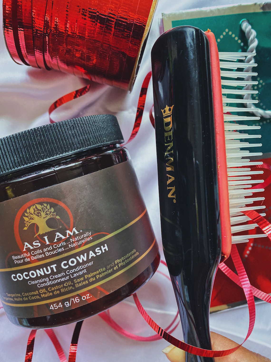 as i am coconut cowash-denman brush