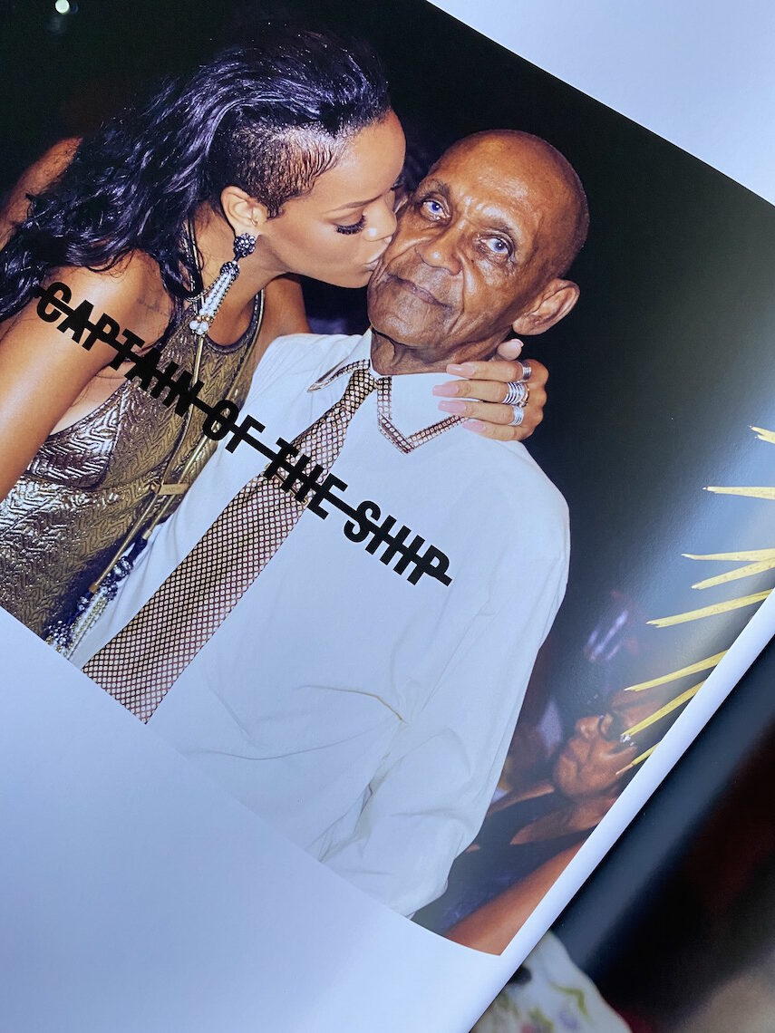 rihanna book-rihanna grandfather lionel-clara lionel foundation