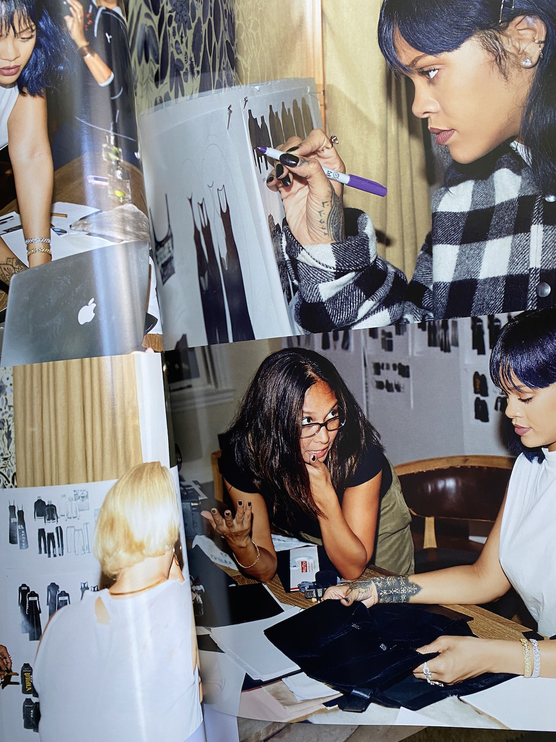 rihanna book-design-behind the scenes-favorite things about rihanna