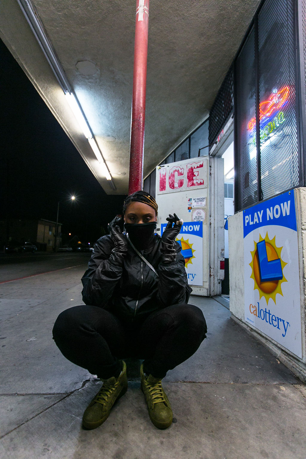 black turtleneck-rsee-xmmtt-lcm-wear who you are-liquor store-night photography-social media hiatus