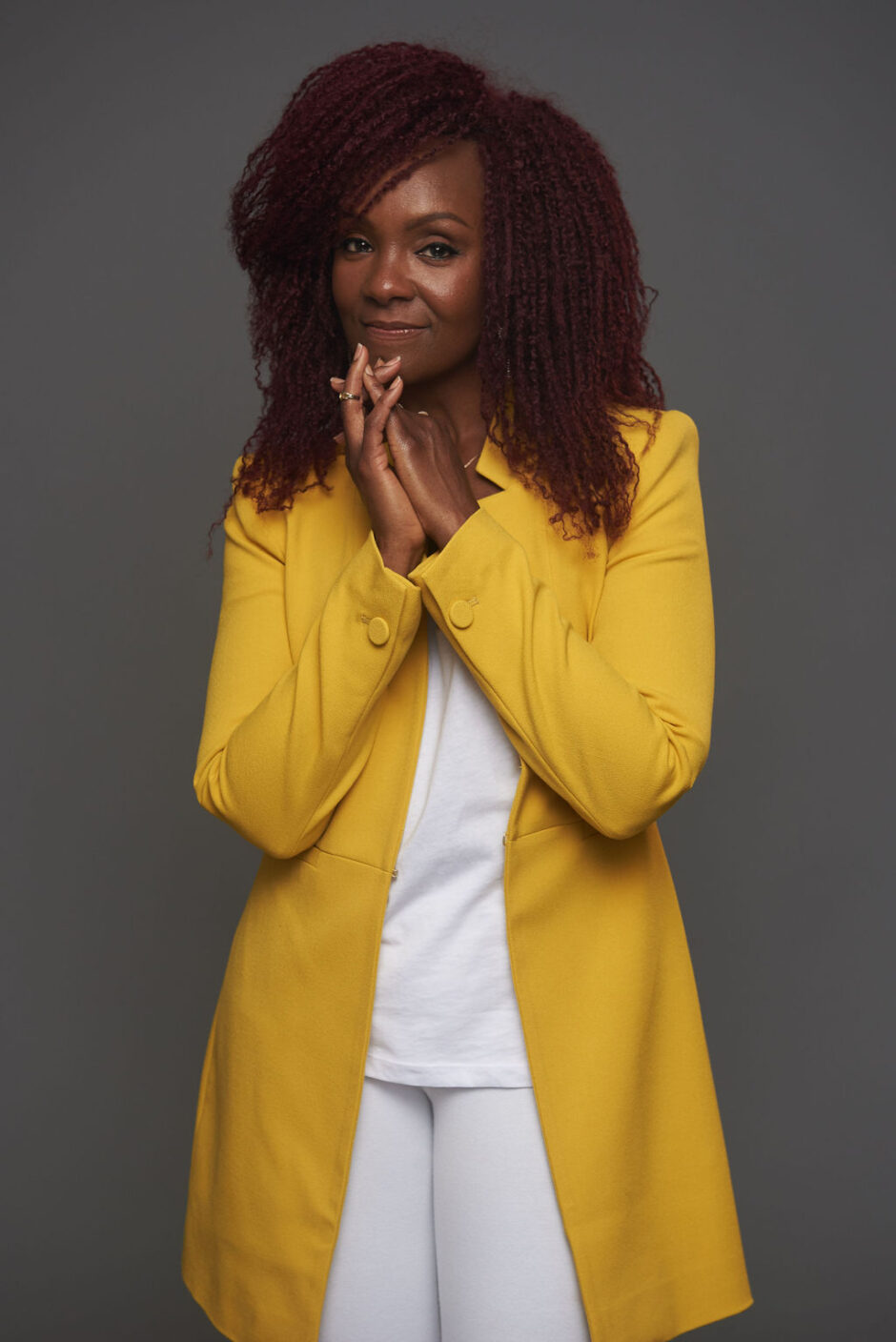 rha goddess-professional styling-yellow blazer-sheldon botler photography-wear who you are-kazi creative