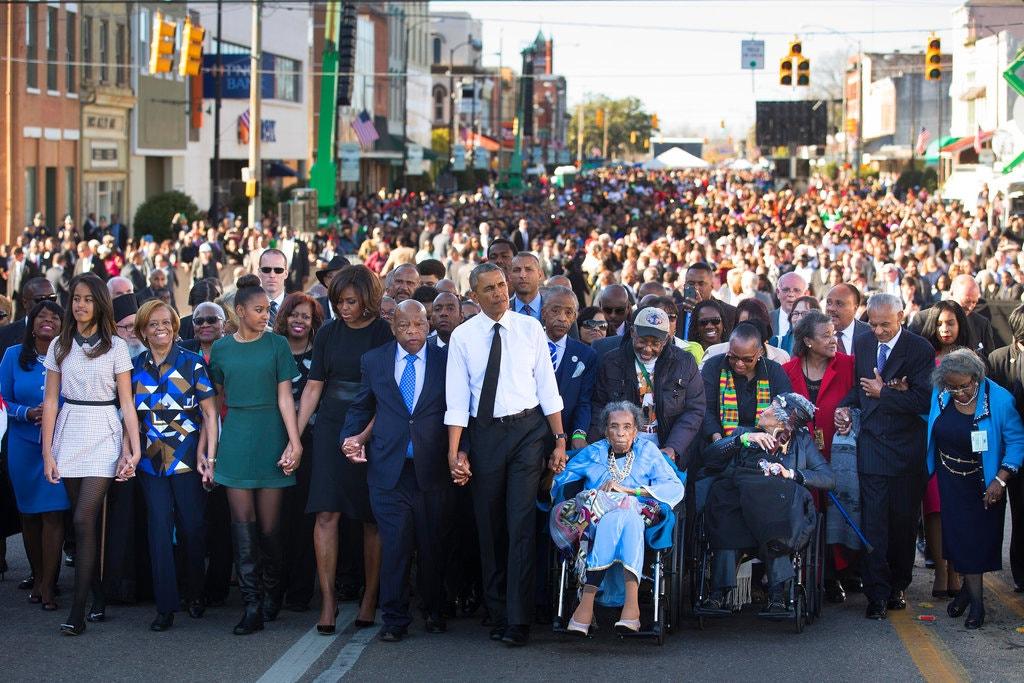 black history-obama-selma