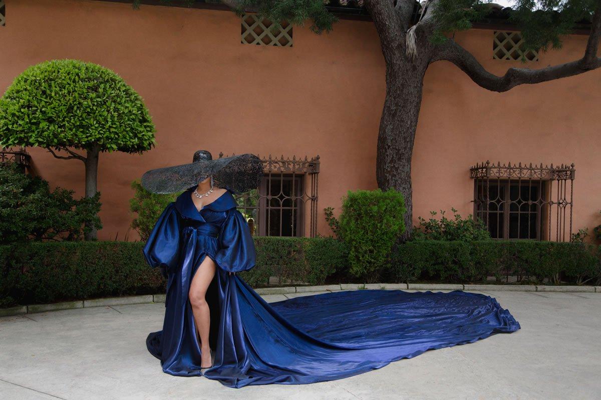 beyonce.com-disney-black-is-king-mood-4-eva-blue-gown-alejandro-wide-brim-hat-marta-jakubowski-jo-miller