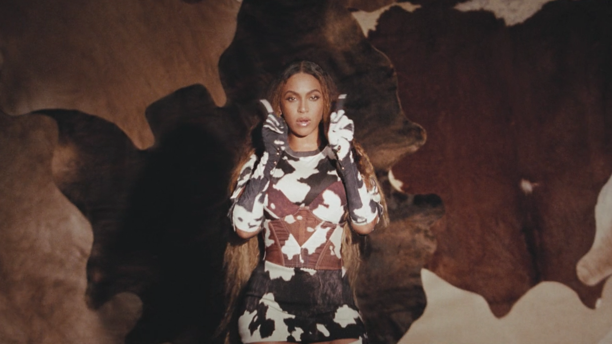 black-is-king-already-beyonce-cow-print-outfit-1