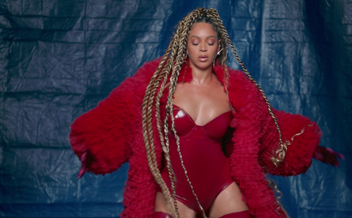 black-is-king-water-beyonce-red-outfit-3