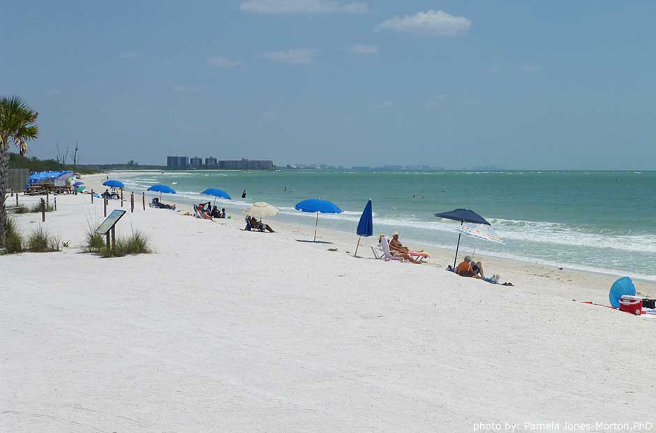 Lovers Key State Park beach photo: Pamela Jones-Morton