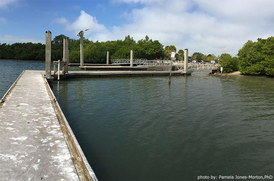 Lovers Key State Park boat launch photo: Pamela Jones-Morton