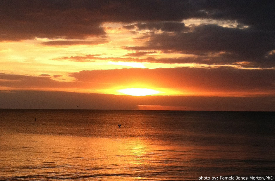 Lovers Key State Park sunset photo: Pamela Jones-Morton