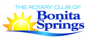 The Rotary Club of Bonita Springs logo