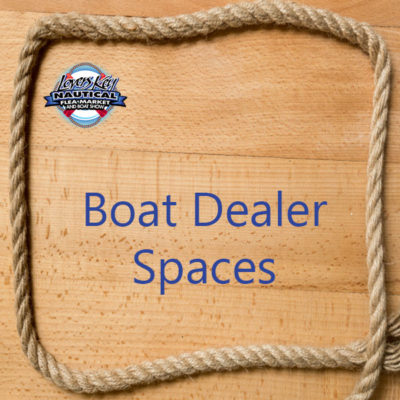 Lovers Key Nautical Flea Market & Boat Show Boat Dealer spaces space sign