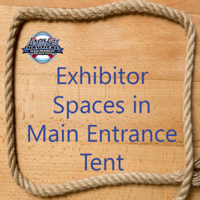 Lovers Key Nautical Market & Boat Show Boat Dealer spaces space sign