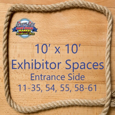 10 x 10 Exhibitor Space EntranceSide