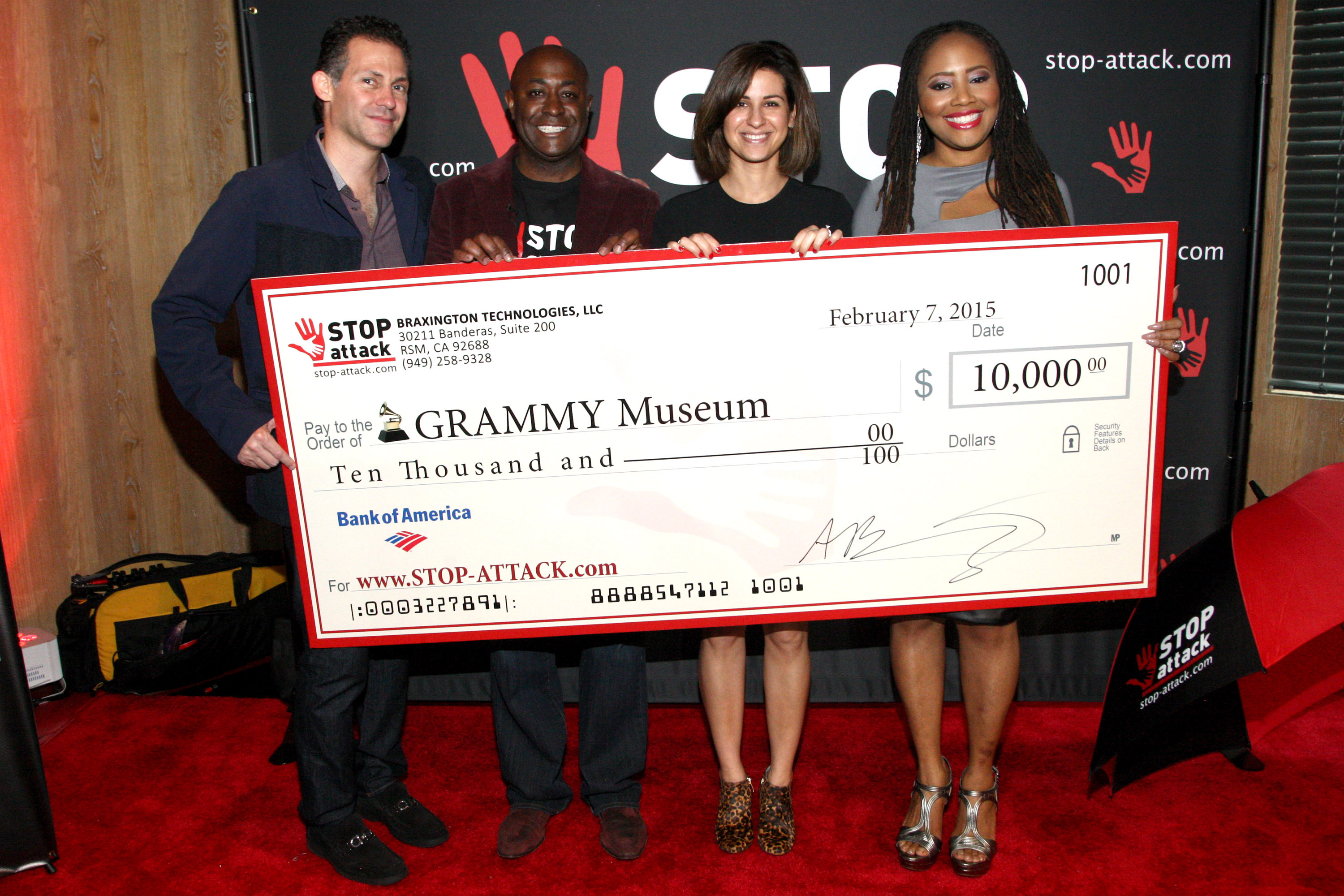Innovative Anti-Assault App GRAMMY Gifting Suite News