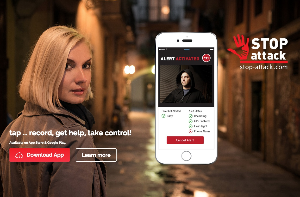 Stop Street Harassment, Bullying, and Assault with the STOP-ATTACK Mobile App