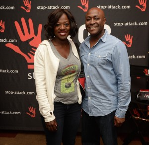 Viola Davis with Tony Bright