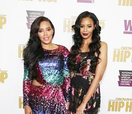 """The cast of WE tv's """"Growing Up Hip Hop"""" celebrated the Season 3 premiere"""