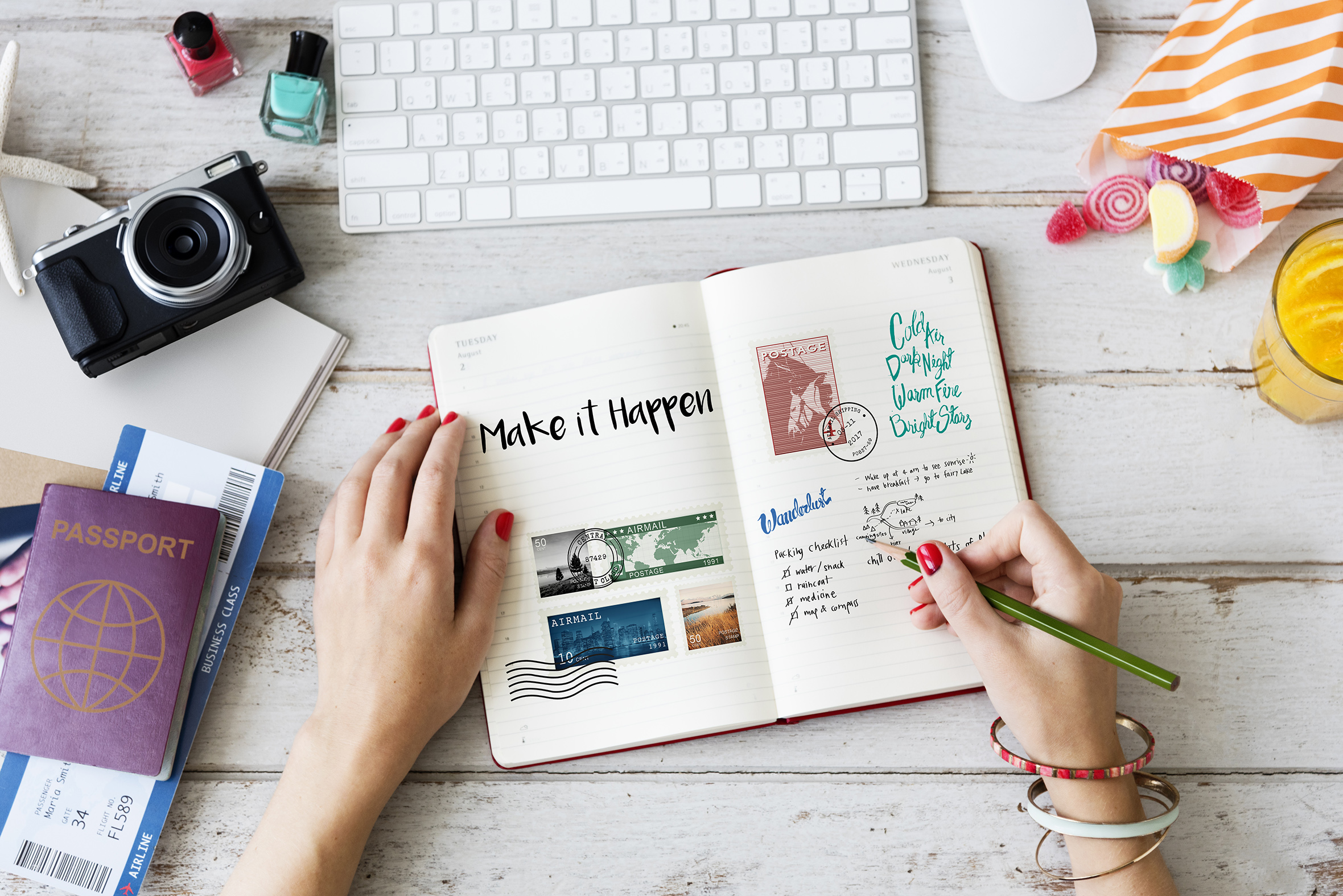 Create a digital magazine