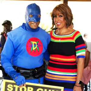 Dangerman Gayle King Supero hero