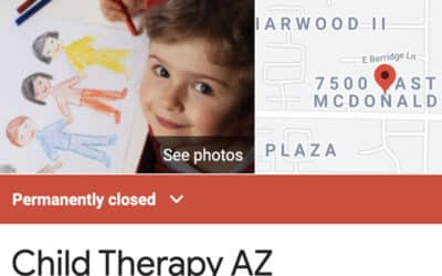 "Is Diana Vigil's ""Child Therapy AZ"" Permanently Closed?"