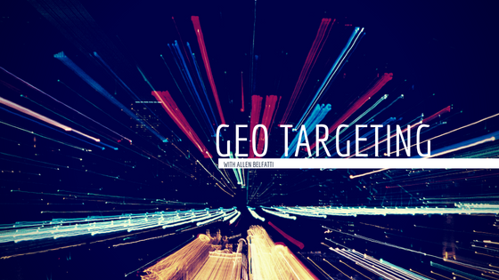 Episode #6: How I Outsold My Competition 3 to 1 Using Geo-Targeting Ads with Allen Belfatti