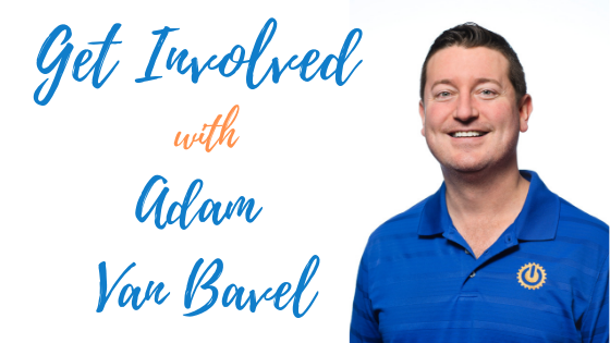 Episode # 54: Get Involved with Adam Van Bavel