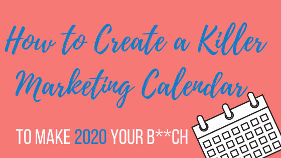 Episode # 70: How to Create a Killer Marketing Calendar