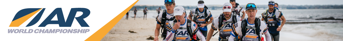 The Final Team Crosses the Finish Line at the 2021 Adventure Racing World Championships