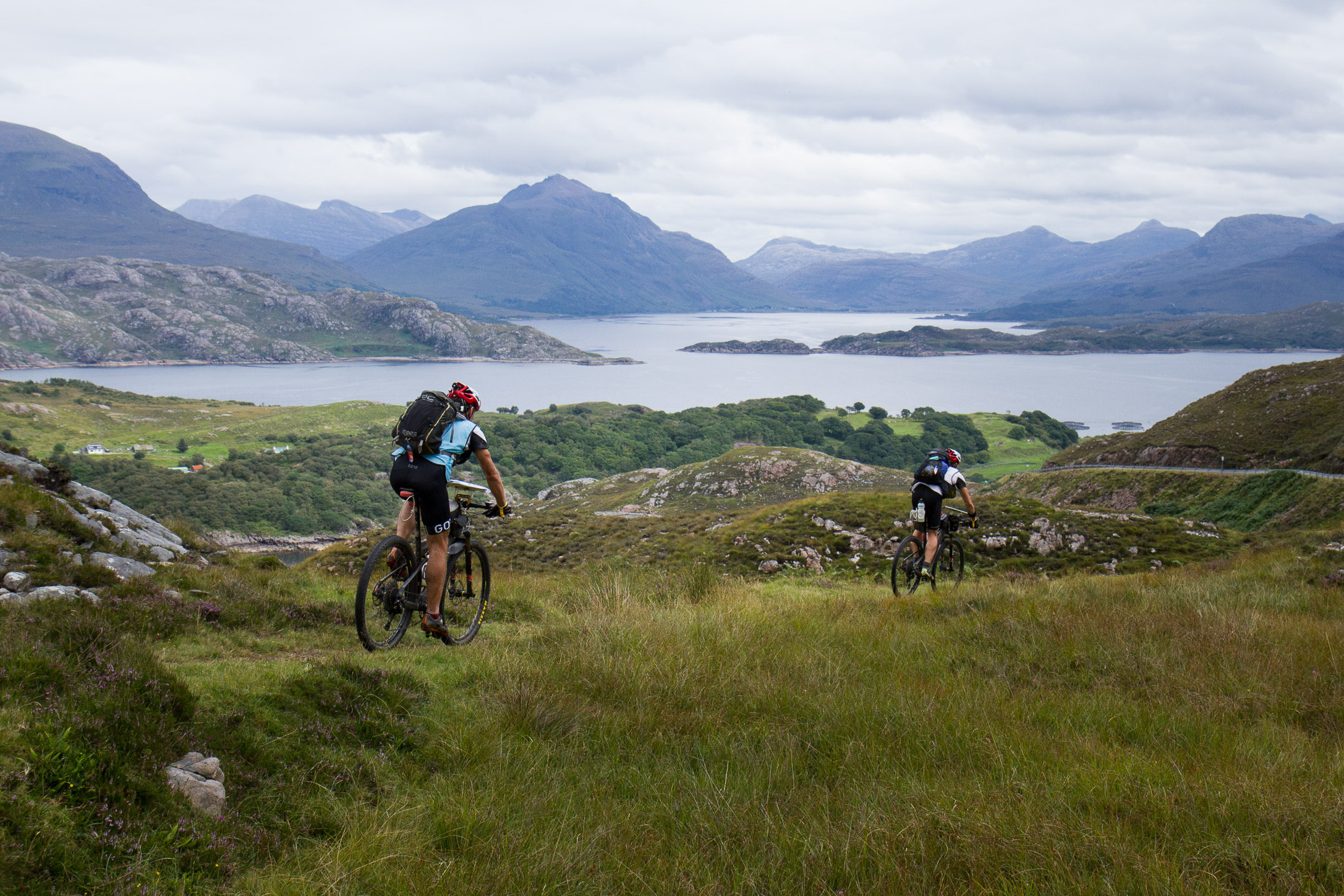 Cycling in the Scottish Highlands at ITERA