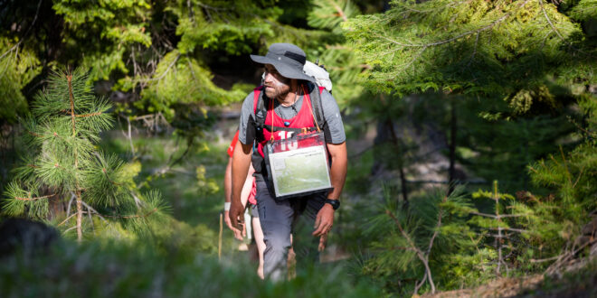 Trekking at Expedition Oregon