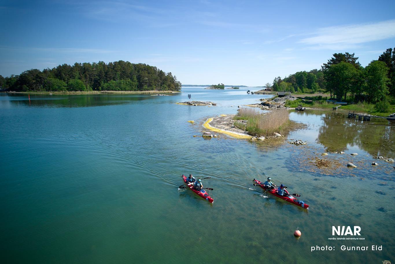 Kayaking in the Swedish Archipelago