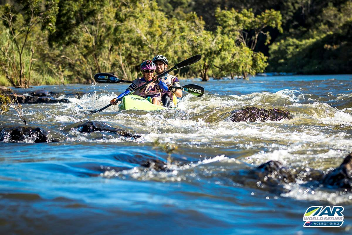 Kayaking at XPD Rivers of Gold