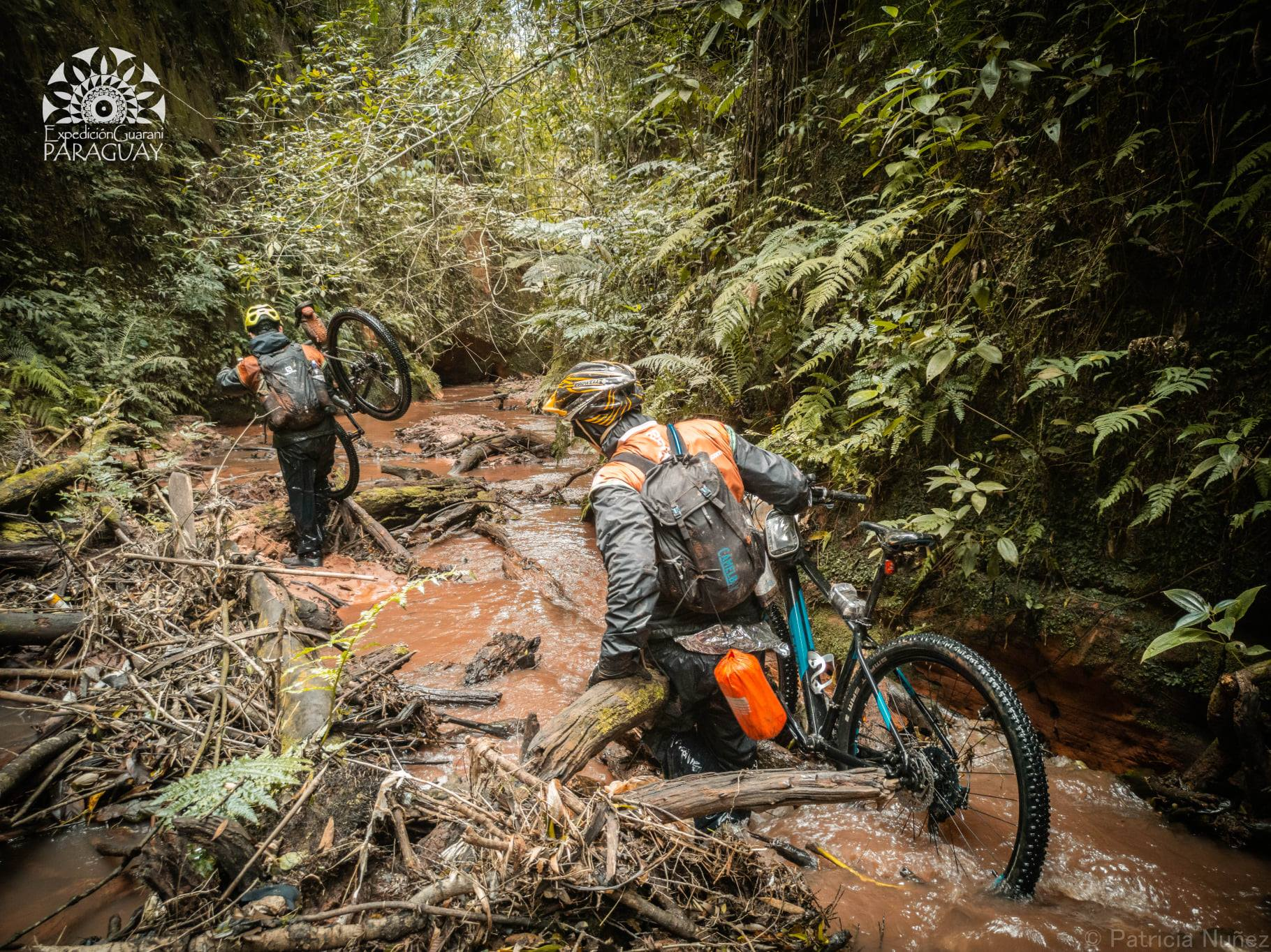 Difficult biking terrain
