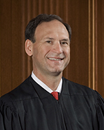 US Supreme Court Associate Justice Samuel Alito, nominated by Republican President George W. Bush in 2005 to replace O'Connor
