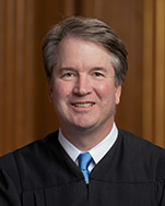 US Supreme Court Justice Brett Kavanaugh, the Republican President Trump's 2018 nominee to replace a retiring Anthony Kennedy