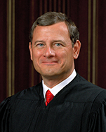 Chief Justice of the United States Supreme Court John Roberts of NY, nominated by Republican President George W. Bush in 2005