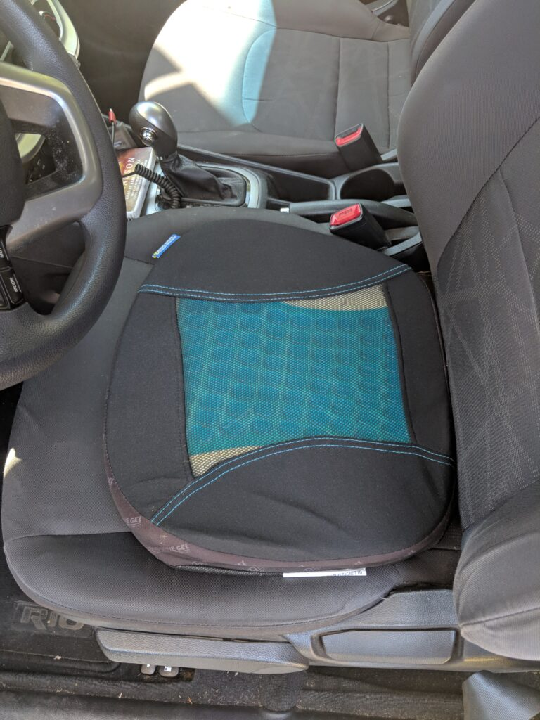 Seat Cushion Perfect for Countless Hours of Ride Driving Around the Streets Plus Roads of the Austin, Texas Metropolitan Area