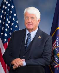 Utah's Congressional District 1 US House Representative as of United States Congress 116 with Utah District's City List & PVI