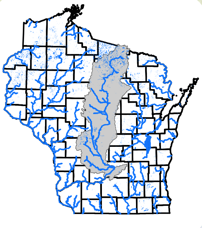 WI river basin