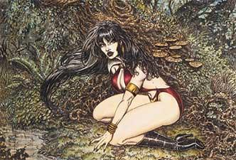 Vampirella Lithograph