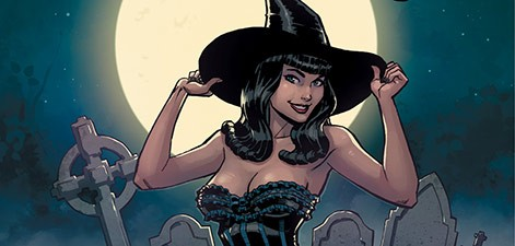 Halloween Bettie Page