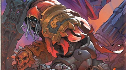 Udon Entertainment Announces The Release Of The Art Of Darksiders Genesis Hardcover Premier Pop C