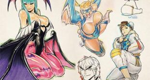 Udon x Capcom Sketchbook