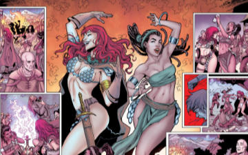 Red Sonja The Price of Blood