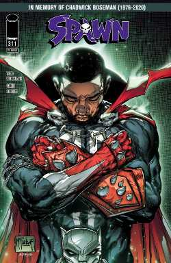 Spawn Boseman Cover